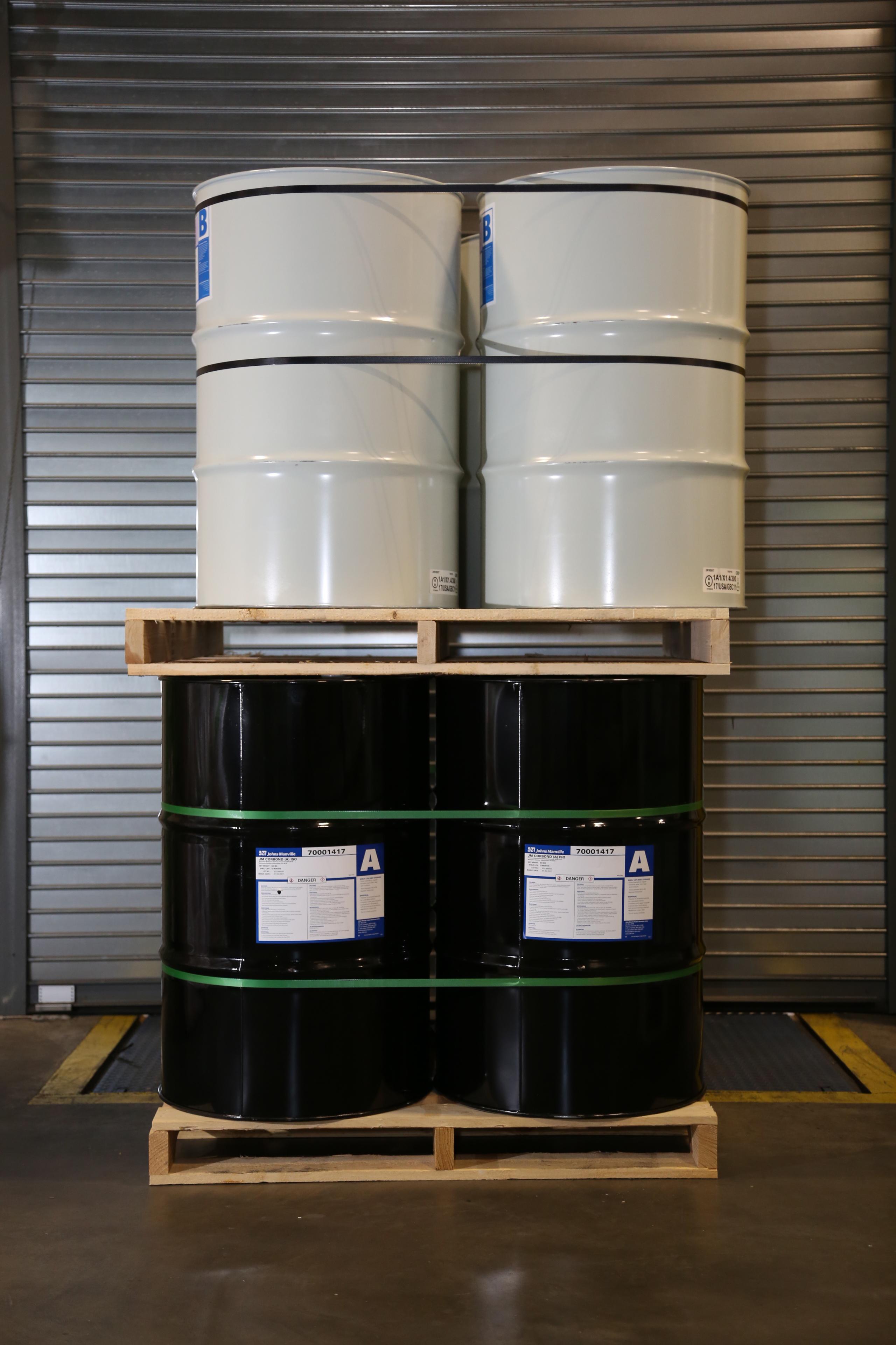 Johns Manville Corbond Spray Foam 55 Gallon Drums