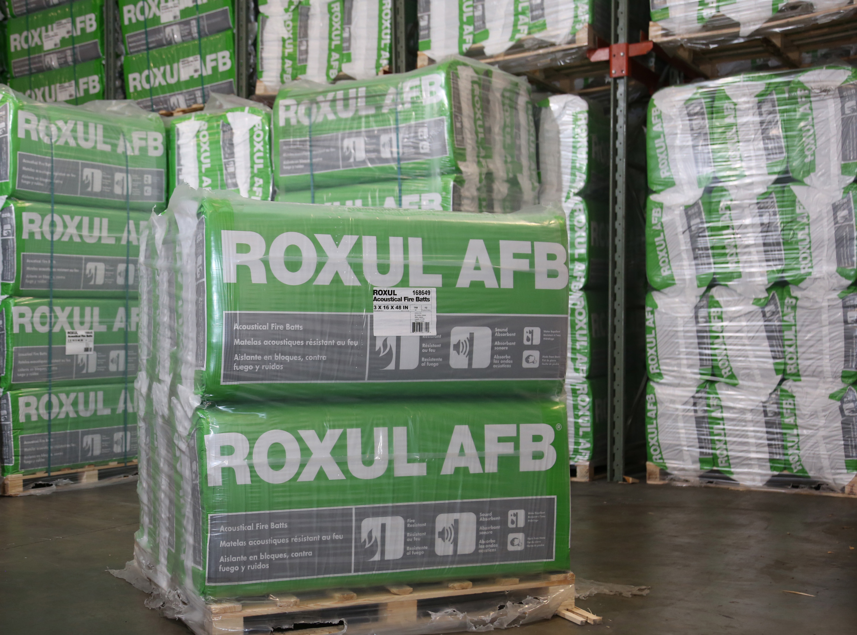Roxul mineral wool lnsulation building materials for Roxul insulation r value