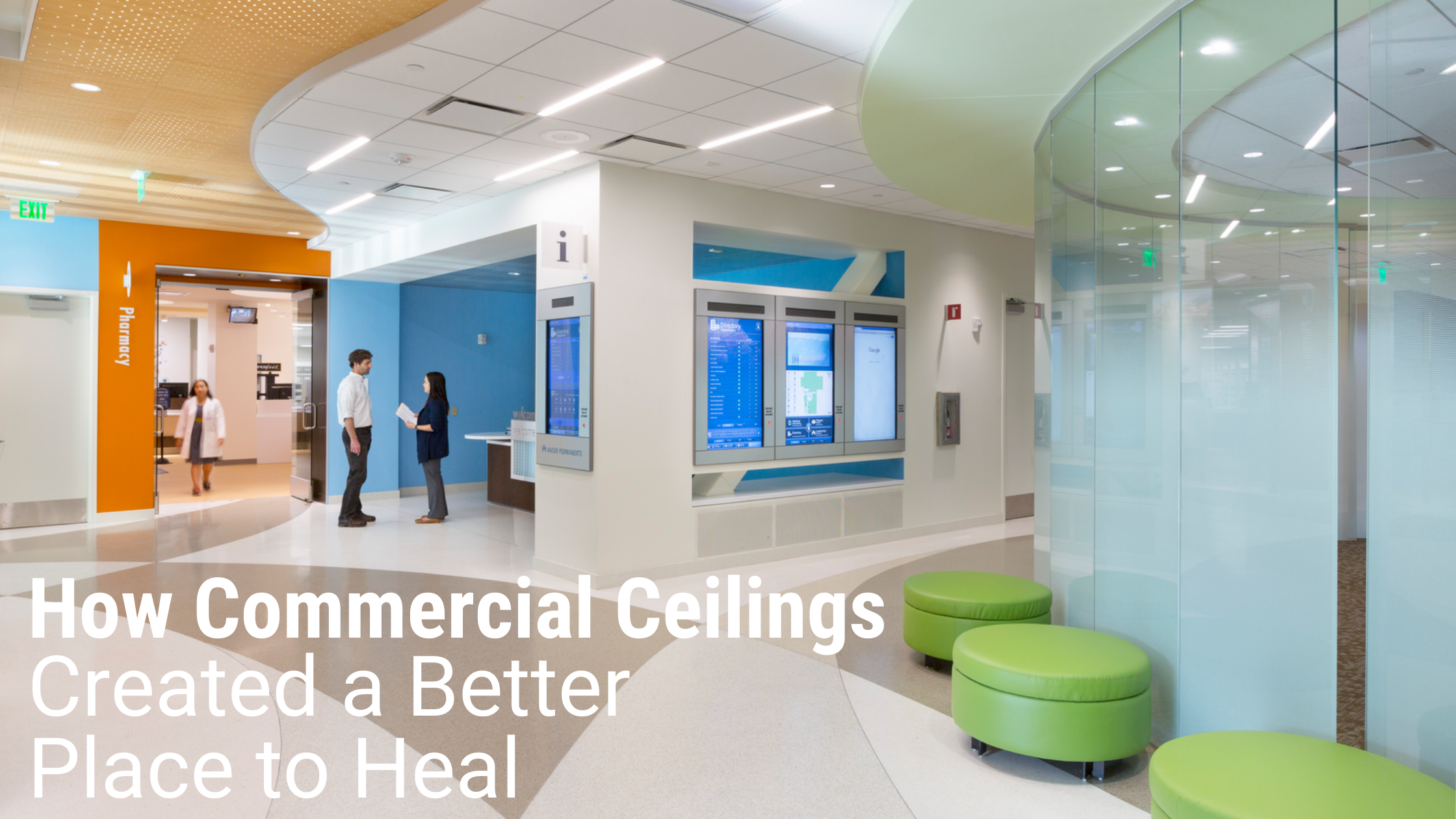 How Commercial Ceilings Created a Better Place to Heal