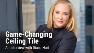 The Game-Changing Ceiling Tile: An Interview with Rockfon's Diana Hart